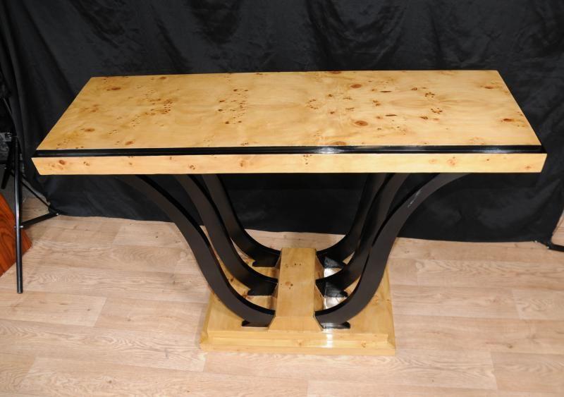 Art Deco Oggee Console Table Modernist Vintage Furniture