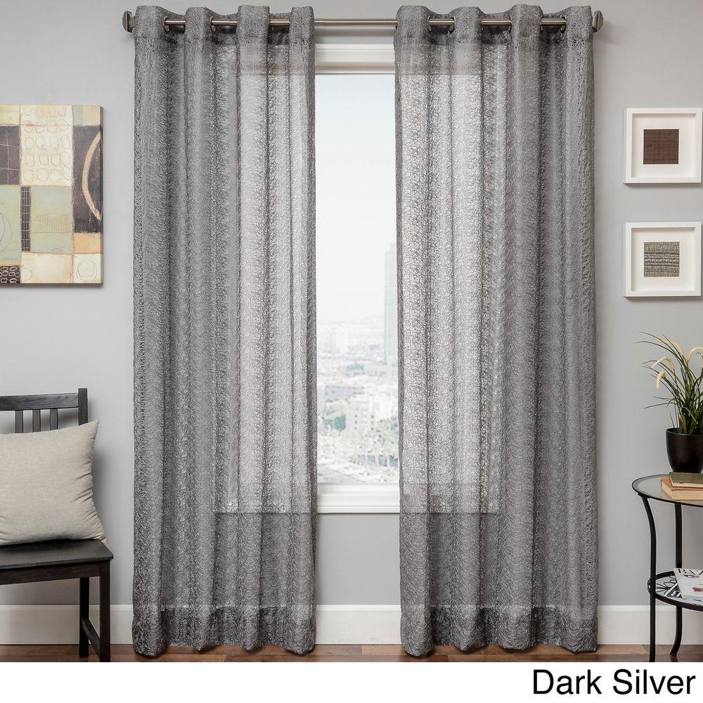 Ariel Sheer Grommet Top Curtain Panel