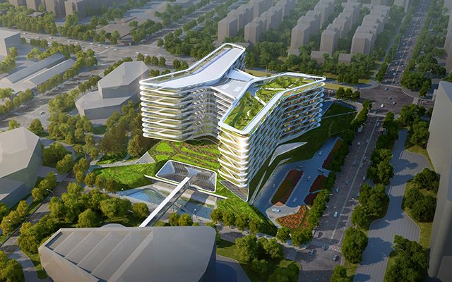 Health care architecture projects