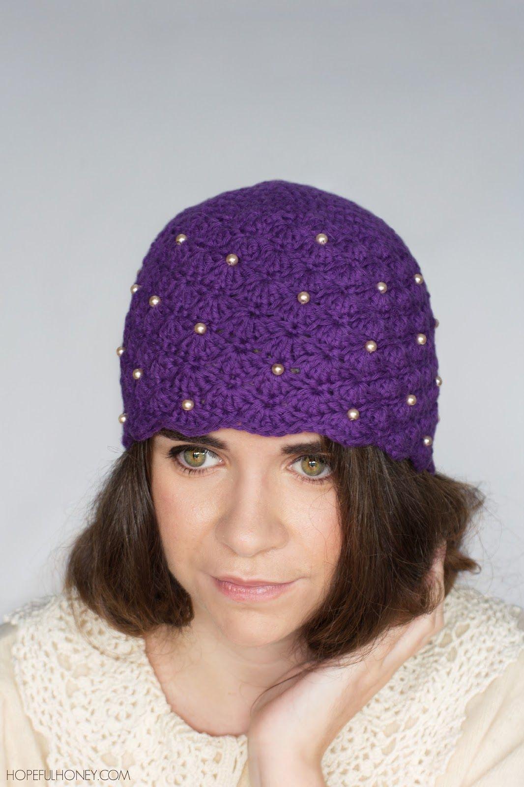 1920s scalloped pearl cloche hat crochet pattern cloche hats 1920s scalloped pearl cloche hat crochet pattern bankloansurffo Gallery