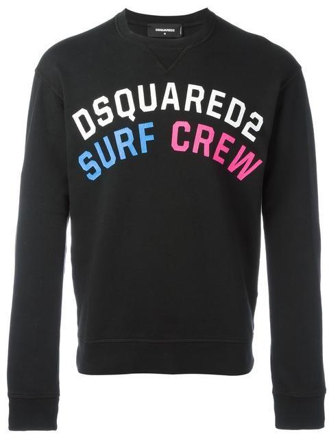 DSQUARED2 Surf Crew Sweatshirt.  dsquared2  cloth  sweatshirt ... f5a6e383998