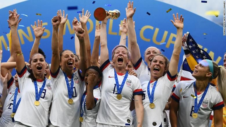 Uswnt Crowned World Champion For Fourth Time Uswnt World Cup Megan Rapinoe