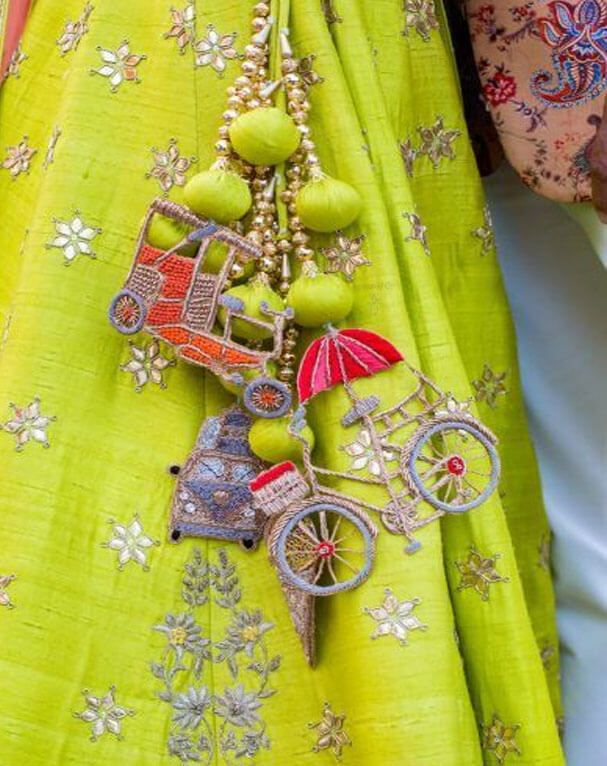 25 Trending Tassels For Lehengas to Amp up the Wedding Look