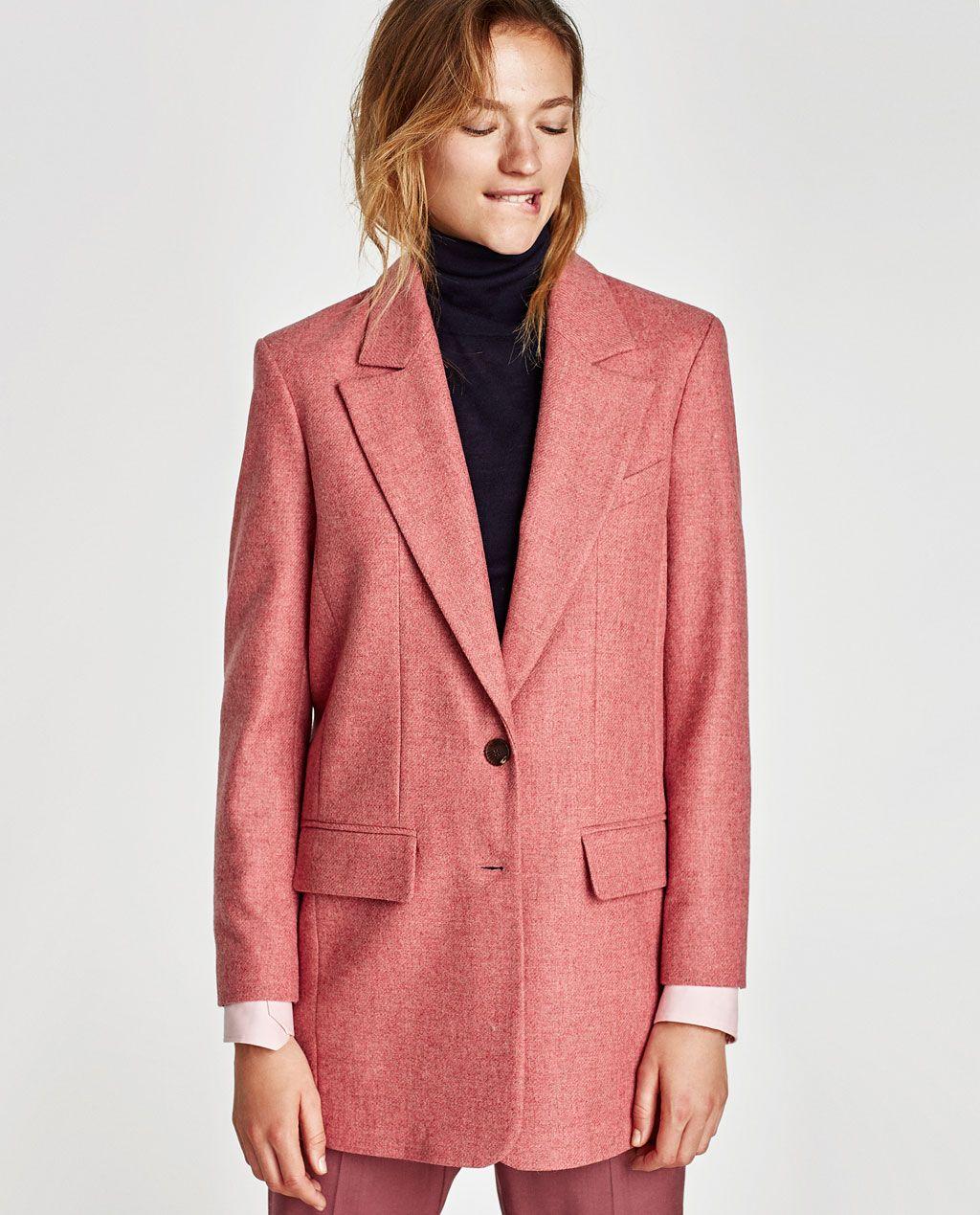 veste tailleur femme oversize