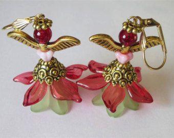 Angels of Spring earrings