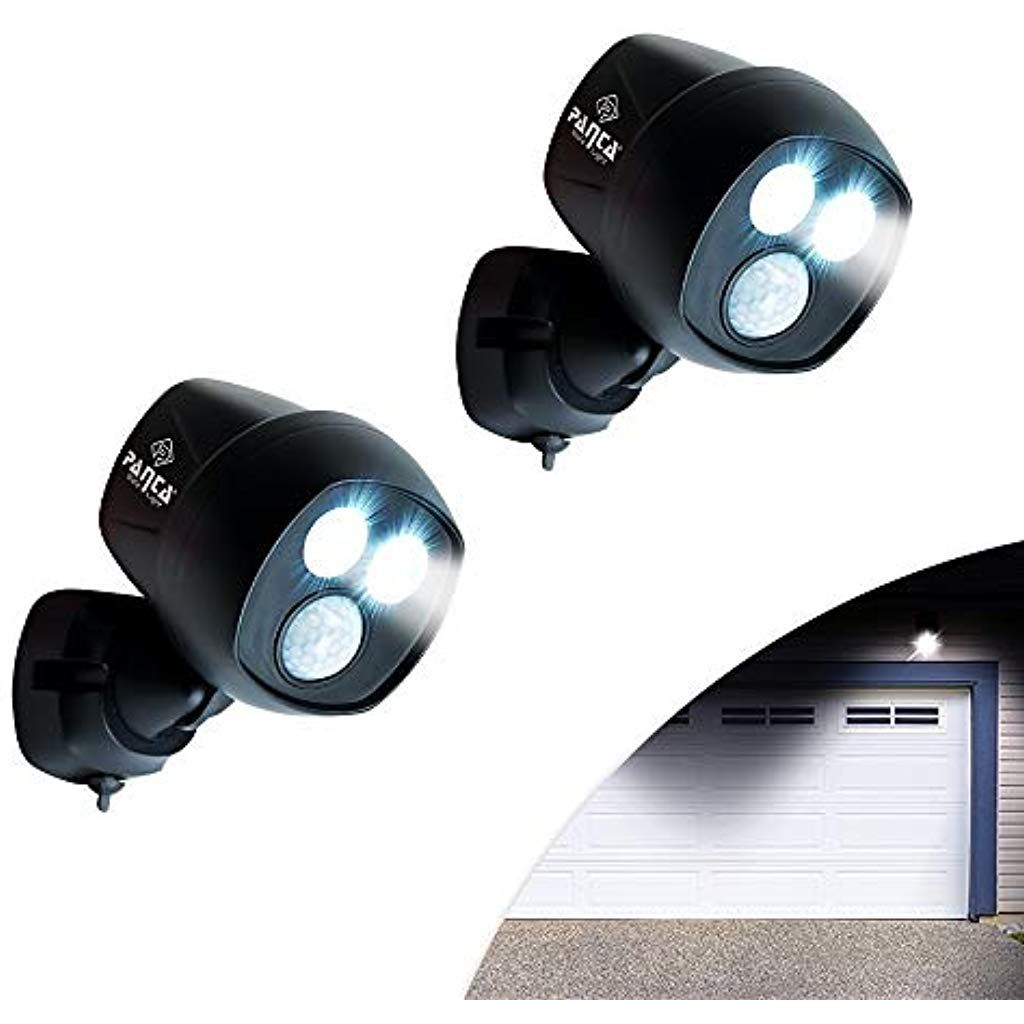 M Mediashop Panta Safe Light 2 Stuck Sicherheitslicht Klemmleuchte Spot Multifunktionslicht Bewegungssensor Lichtsensor K Beleuchtung Led Strahler Klemmleuchte