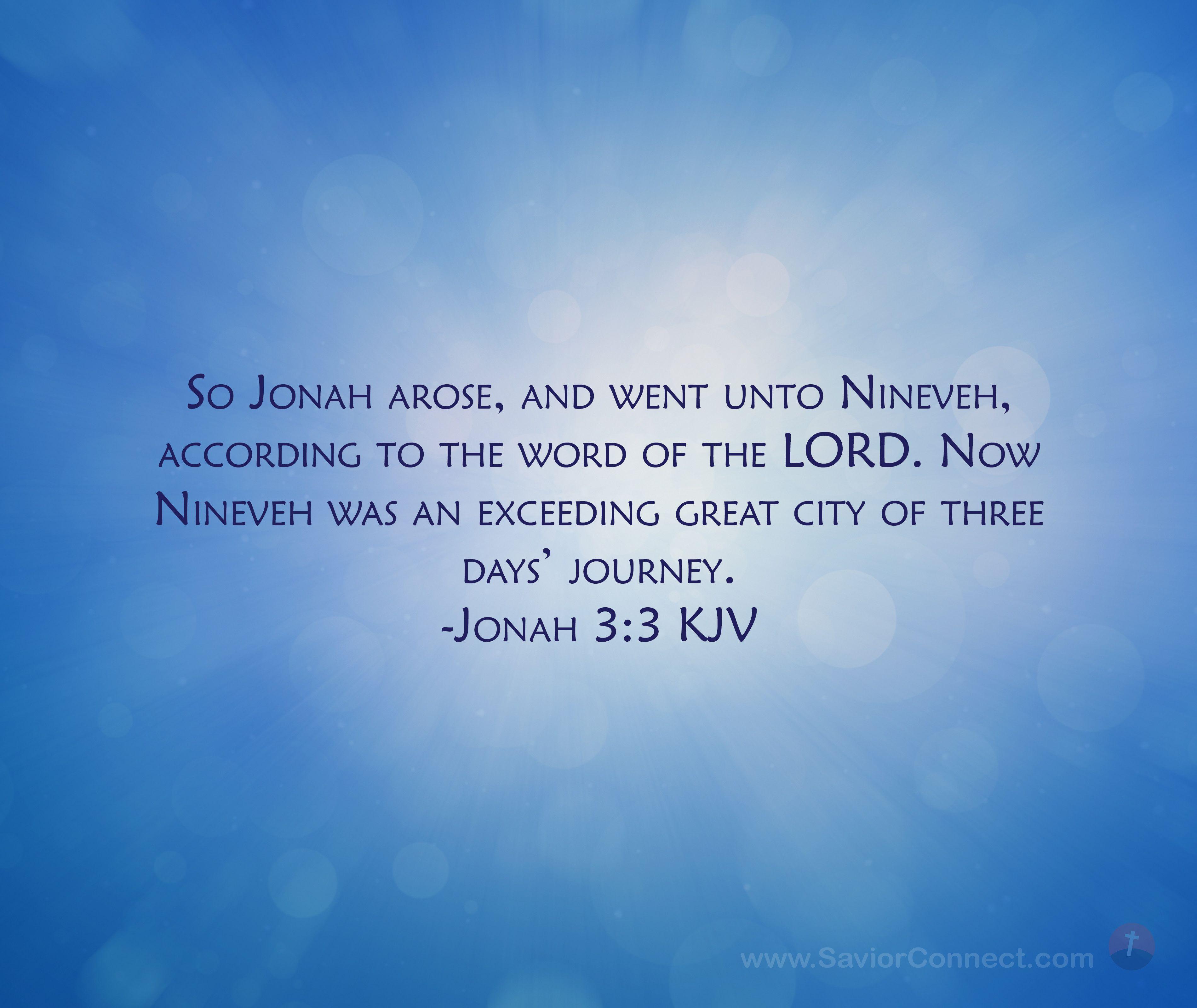 Jonah 33 King James Version in 2020 Psalms, Scripture