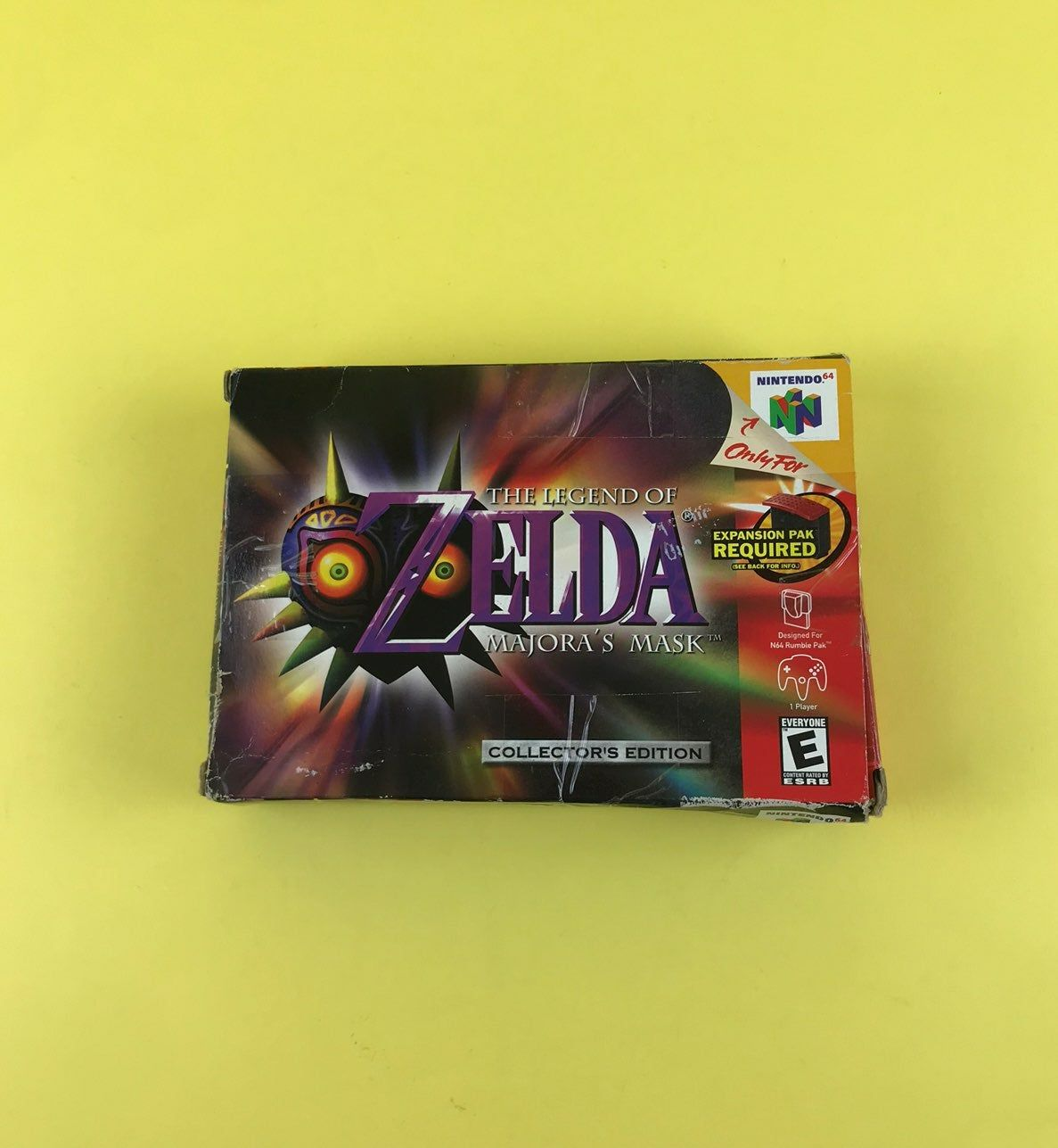 Zelda Majora S Mask Collector S Edition For The Nintendo 64 System N64 This Cart Is Cleaned Tested And Ready To Be The Game Is Over Retro Video Games N64