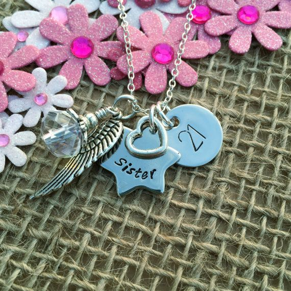 Personalised 21st Birthday Necklace Gift For Her By RubysCharms