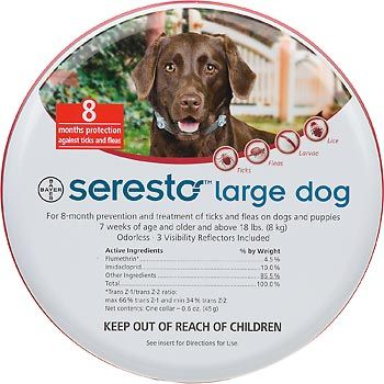 Seresto Flea And Tick Collar For Small Dogs Ticks On Dogs Food