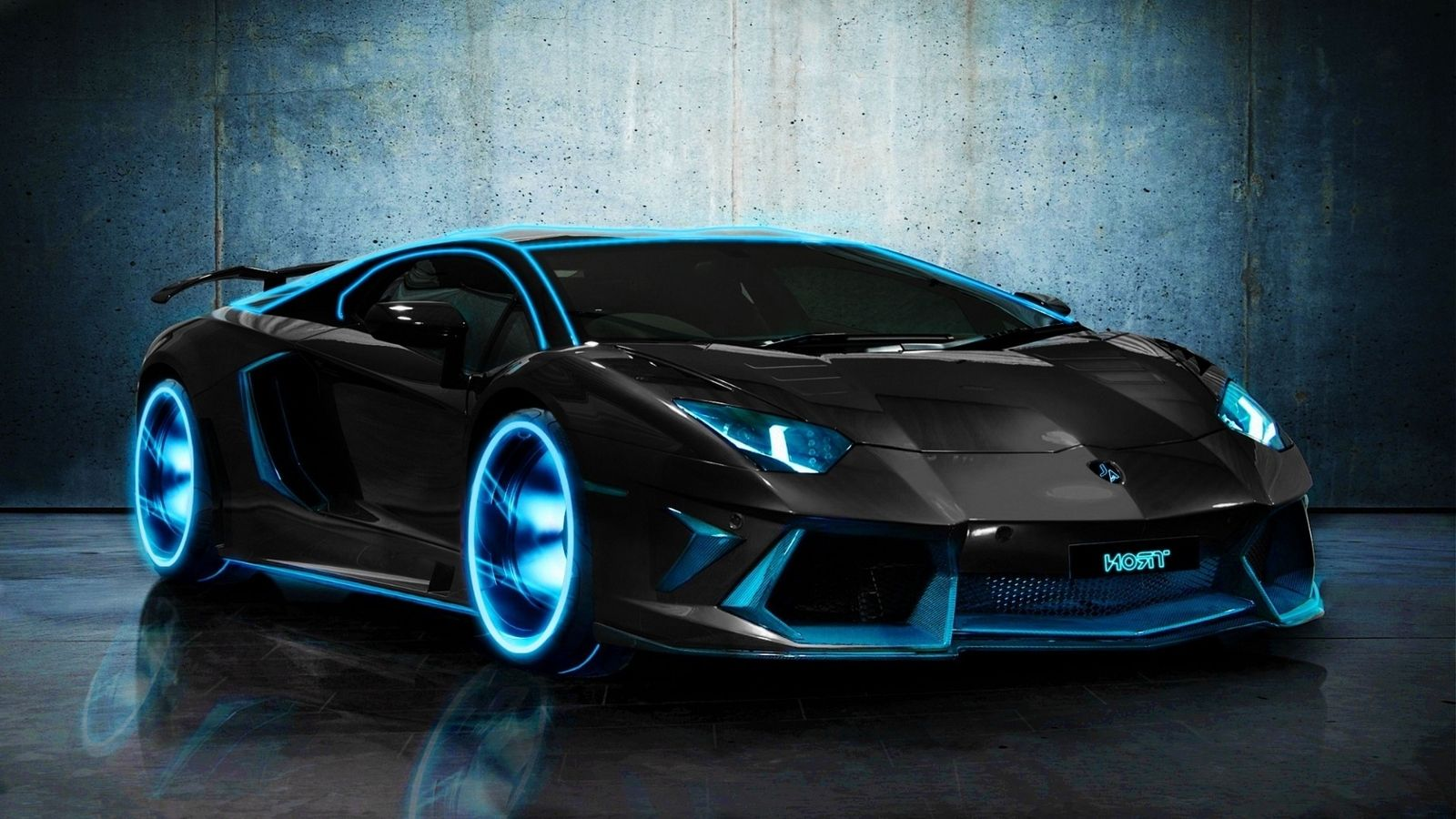 Blue Lamborghini Wallpapers Picture
