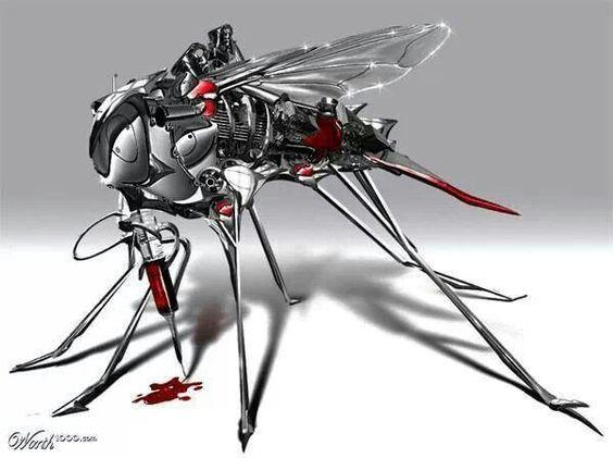 Militer AS Produksi Drone Mata Berbentuk Nyamuk