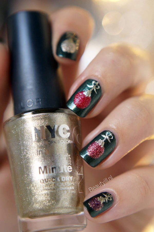 Christmas ornaments nail art design by Beautyill. | nails ...