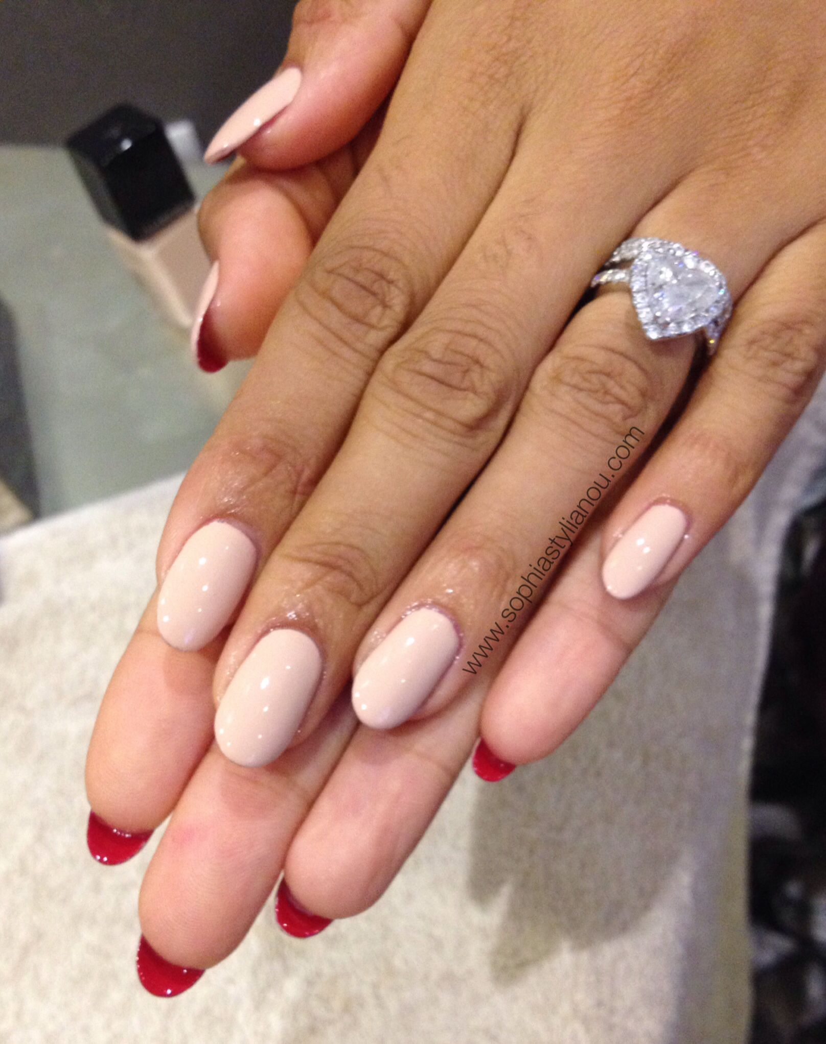 Louboutin Style Nails I Created On Rochelle Humes From The Saturdays