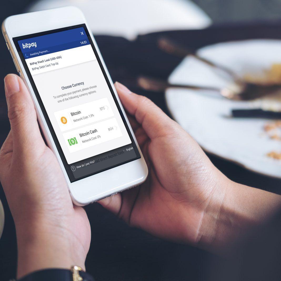 Bitpay launches bitcoin cash debit card top ups bitcoin
