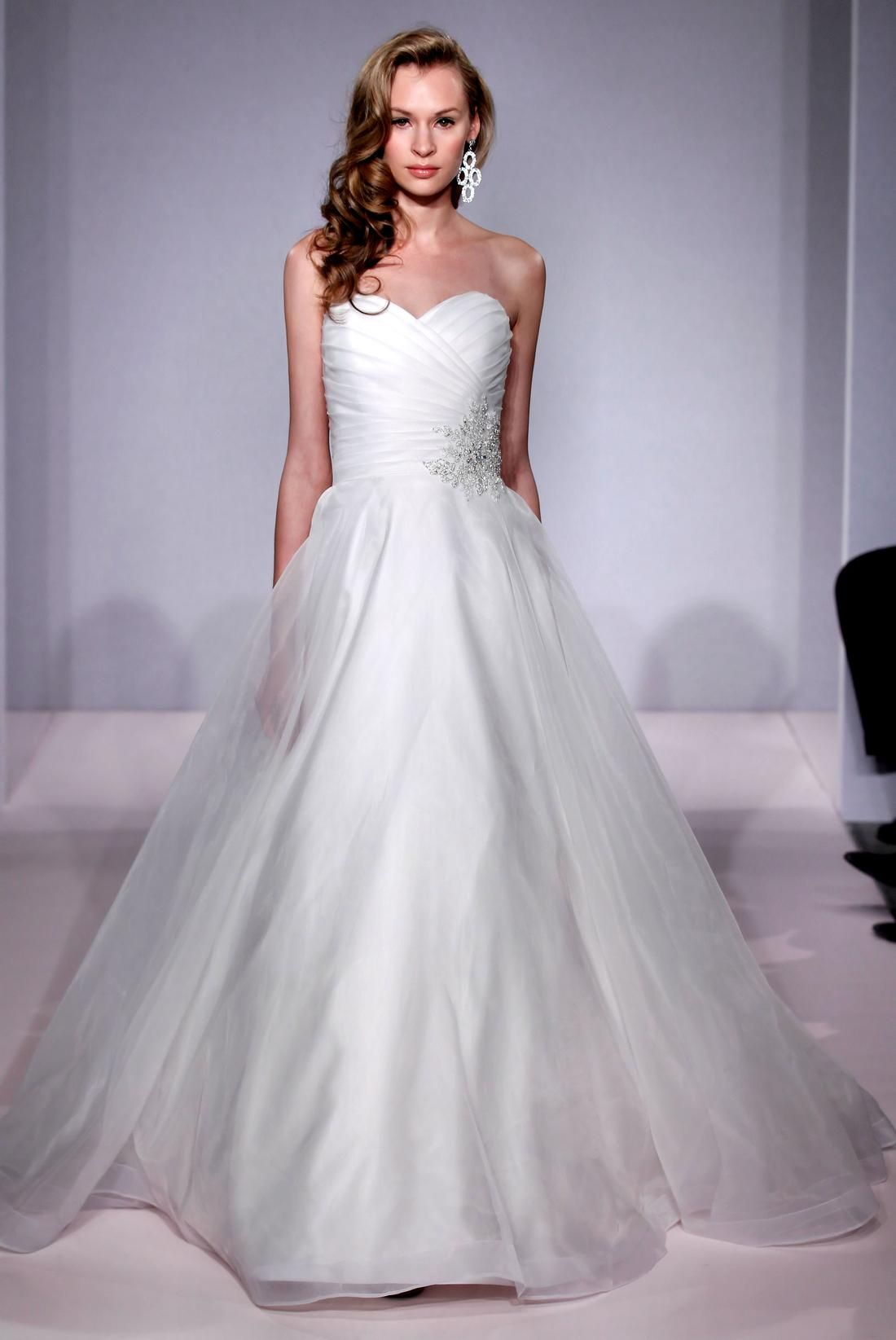 Bridal gowns michelle roth princessball gown wedding dress with