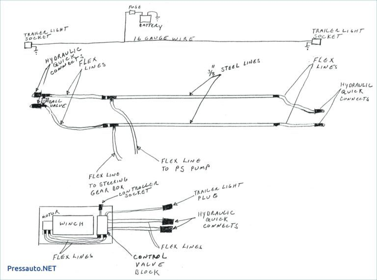 Warn Winch Controller Wiring Diagram Diagram Electrical Diagram Winch