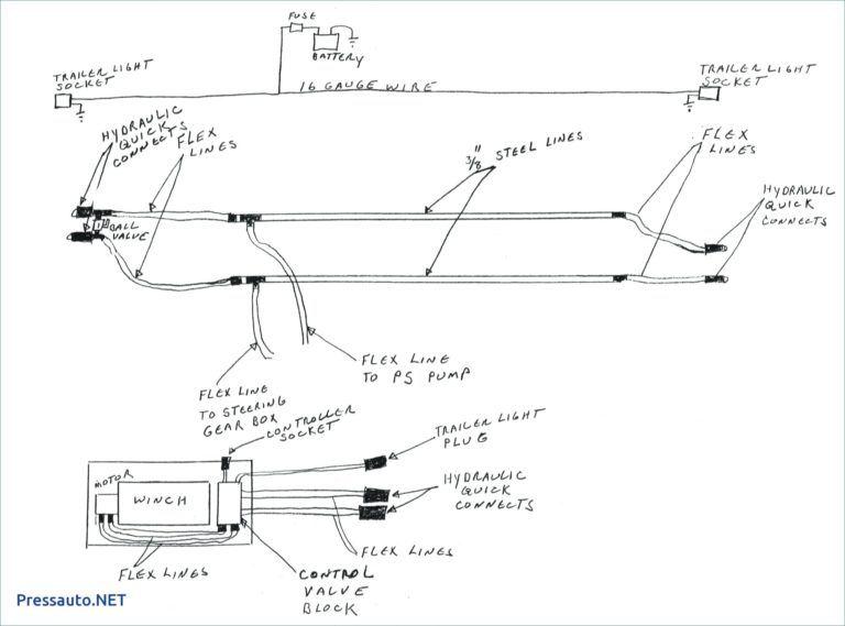 warn winch controller wiring diagram  diagram electrical