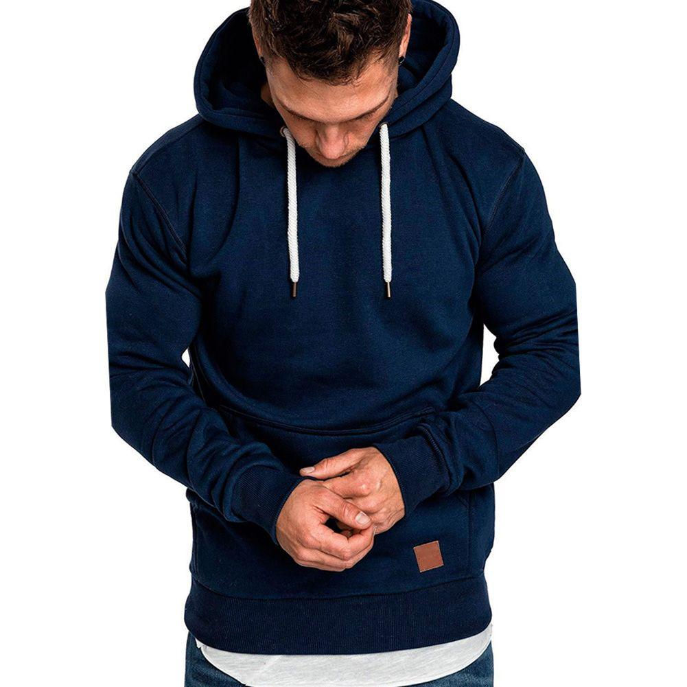 Men Casual Hoodies Coat Jacket Outwear Sweater Sports Jumper Loose Pullover Tops