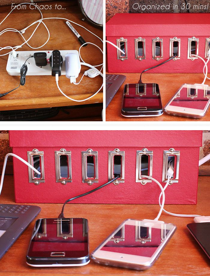 Turn a Shoebox into a Recharge Station in 30 mins  45c4a13ef