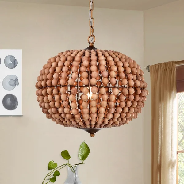 Overstock Com Online Shopping Bedding Furniture Electronics Jewelry Clothing More In 2021 Wood Bead Chandelier Globe Chandelier Eclectic Chandeliers