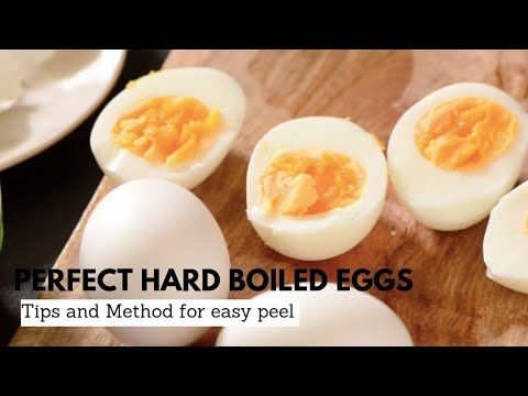 Boiled Eggs | How To Make Perfectly Boiled Eggs