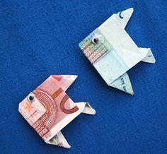 Photo of Geldgeschenke Fische – Geld falten Fisch