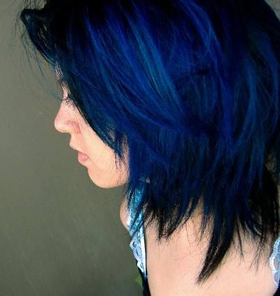 After Midnight Blue Hair This Is Actually Really Pretty Shewolf