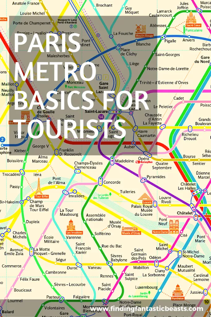 The Idea Of Using The Metro In Paris Can Be A Bit Daunting For Tourists Especially Ones That Come From An Area Where Paris Metro Map Paris Tourist Paris Metro