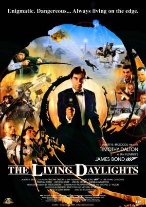 The living daylights with the best Bond ever!