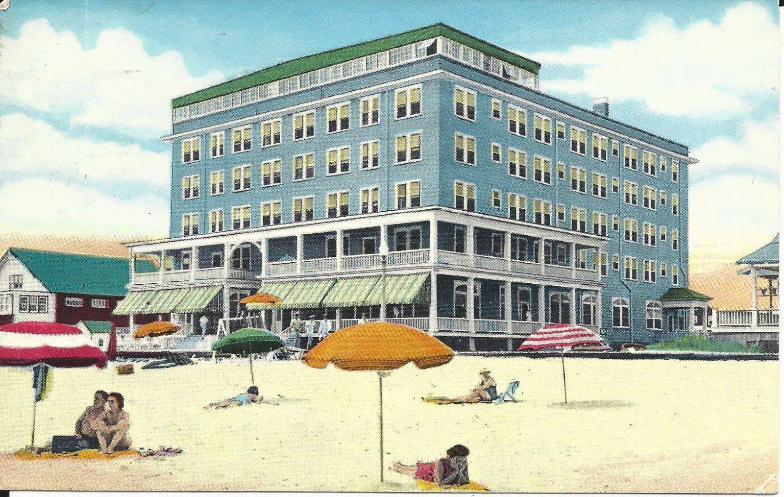 Old 1956 ocean city md george washington hotel boardwalk & 10th ...