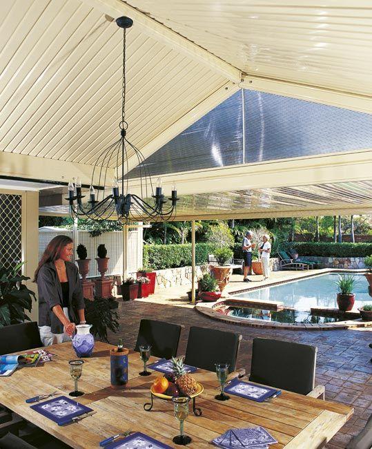 Stratco Outback Gable   Awnings, Carports, Pergolas, Verandahs And Patios