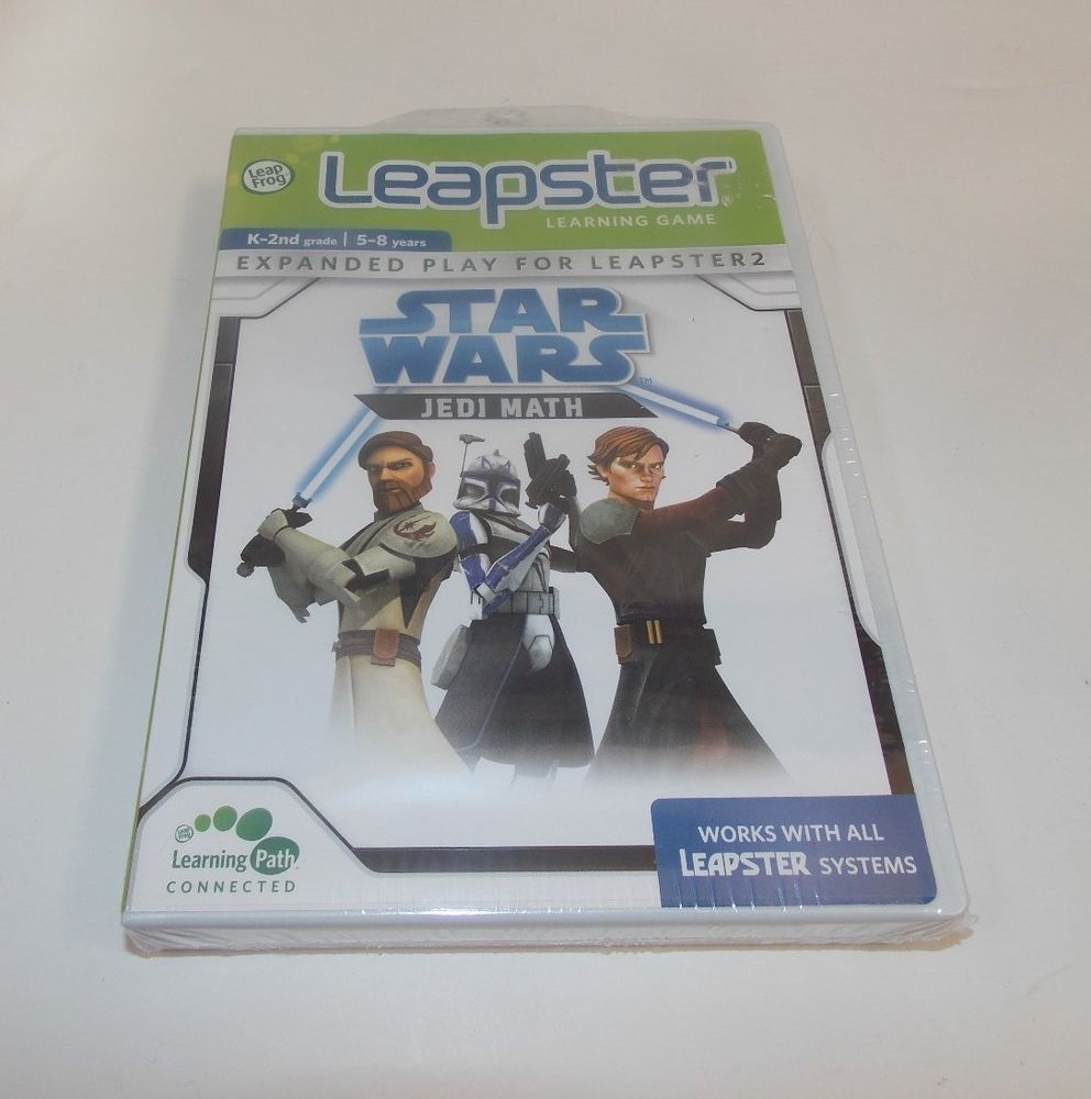 Uncategorized Star Wars Learning Games leap frog leapster 2 learning game star wars jedi math k 2nd ages 5