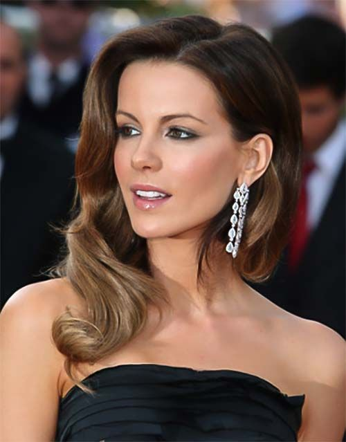 Kate Beckinsale Lange Frisur Mit Scheitel Starfrisuren My I Love