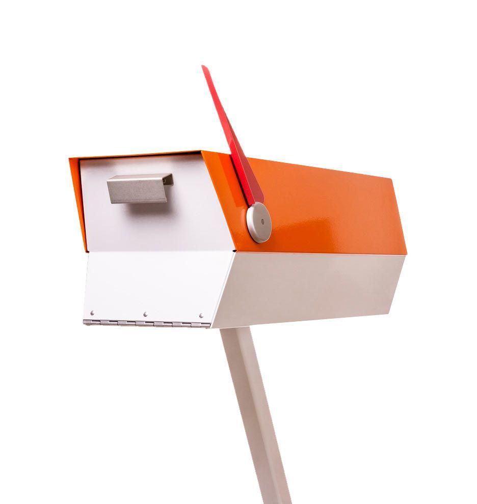 Mid Century Post Mount Mailbox In 2020 Hardware