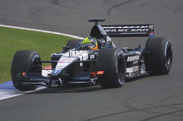 Tarso Marques - European Minardi PS01 European V10