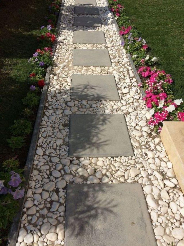 Photo of 43 cheap DIY garden paths design ideas