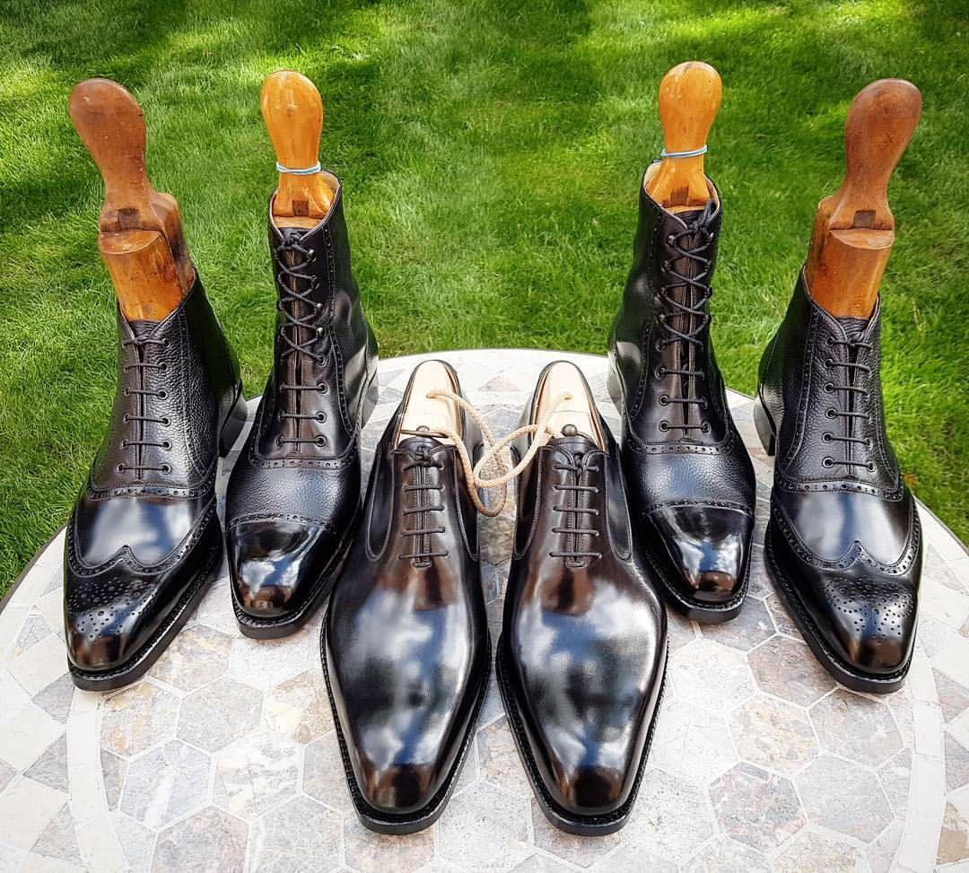 Ascot Shoes — The pair in the middle is sample in size US11...