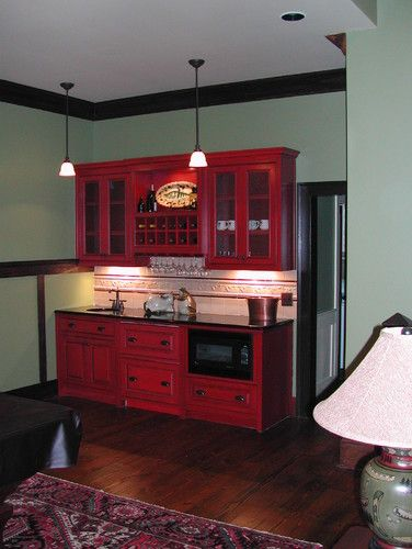 Nooks   Traditional   Basement   Atlanta   Old Mill Cabinet Co.