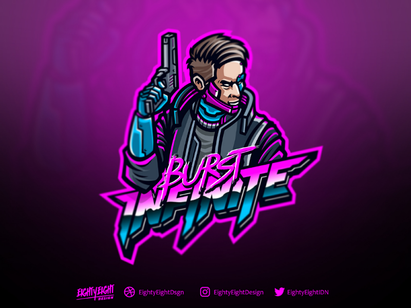 Burst Infinite Infinite Logo Professional Logo Design Mascot Design