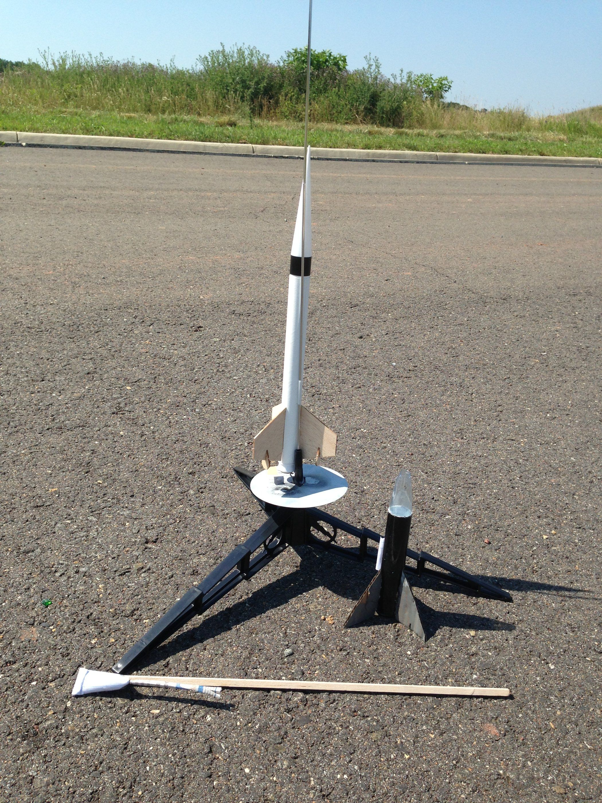 Homemade Rocket With Rocket Fuel and Engine | Tech | Rocket engine