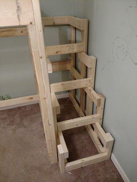 Steps For Loft Bed It Fits Karyola Kendin Yap Mobilya Tamirat