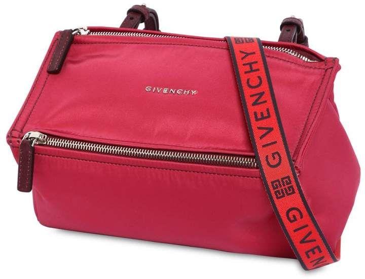 Givenchy Mini Pandora Nylon Bag W  Logo Strap d1b0c0bdafa1b
