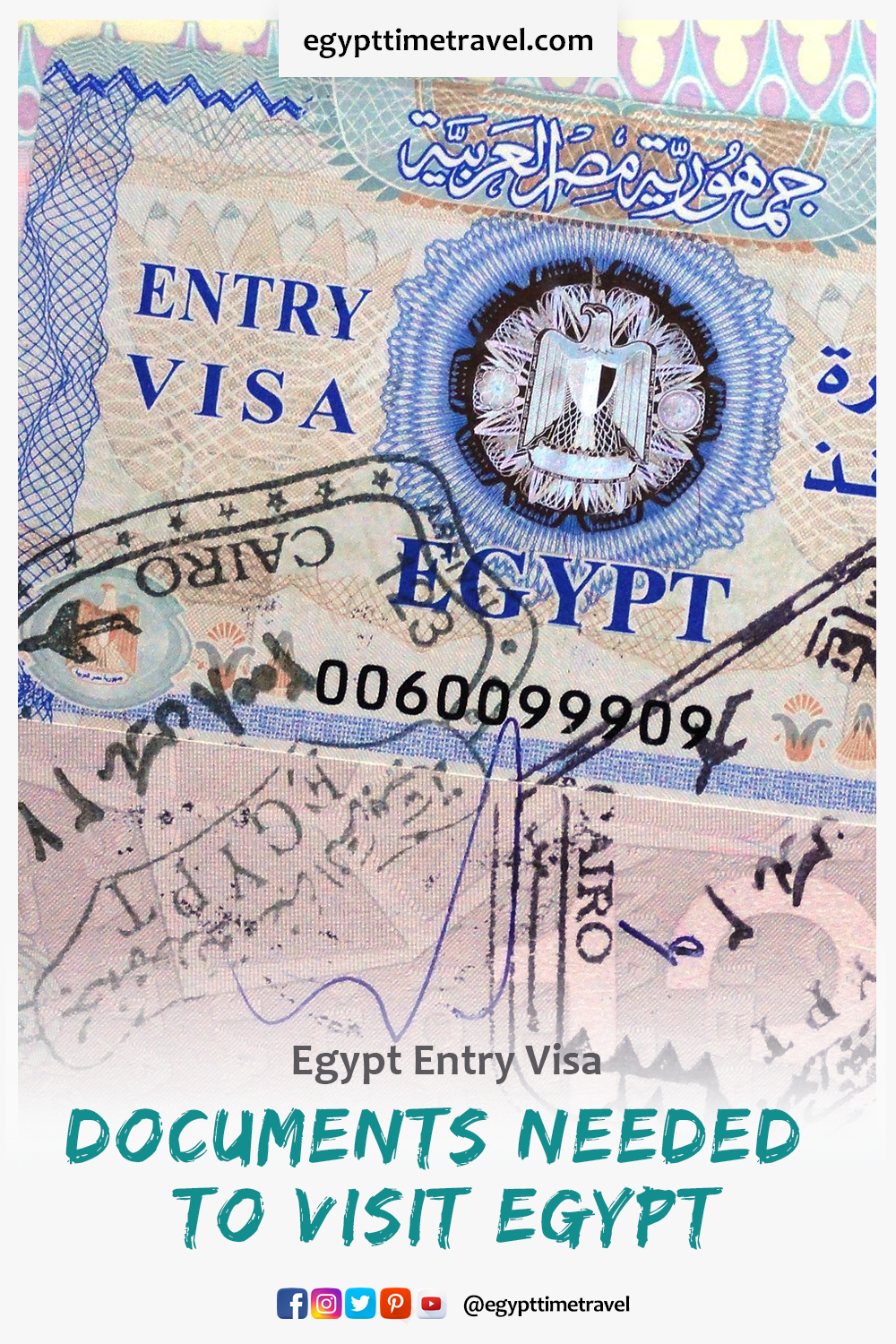 How To Get A Visa For Egypt Visit Egypt Traveling By Yourself Egypt Information