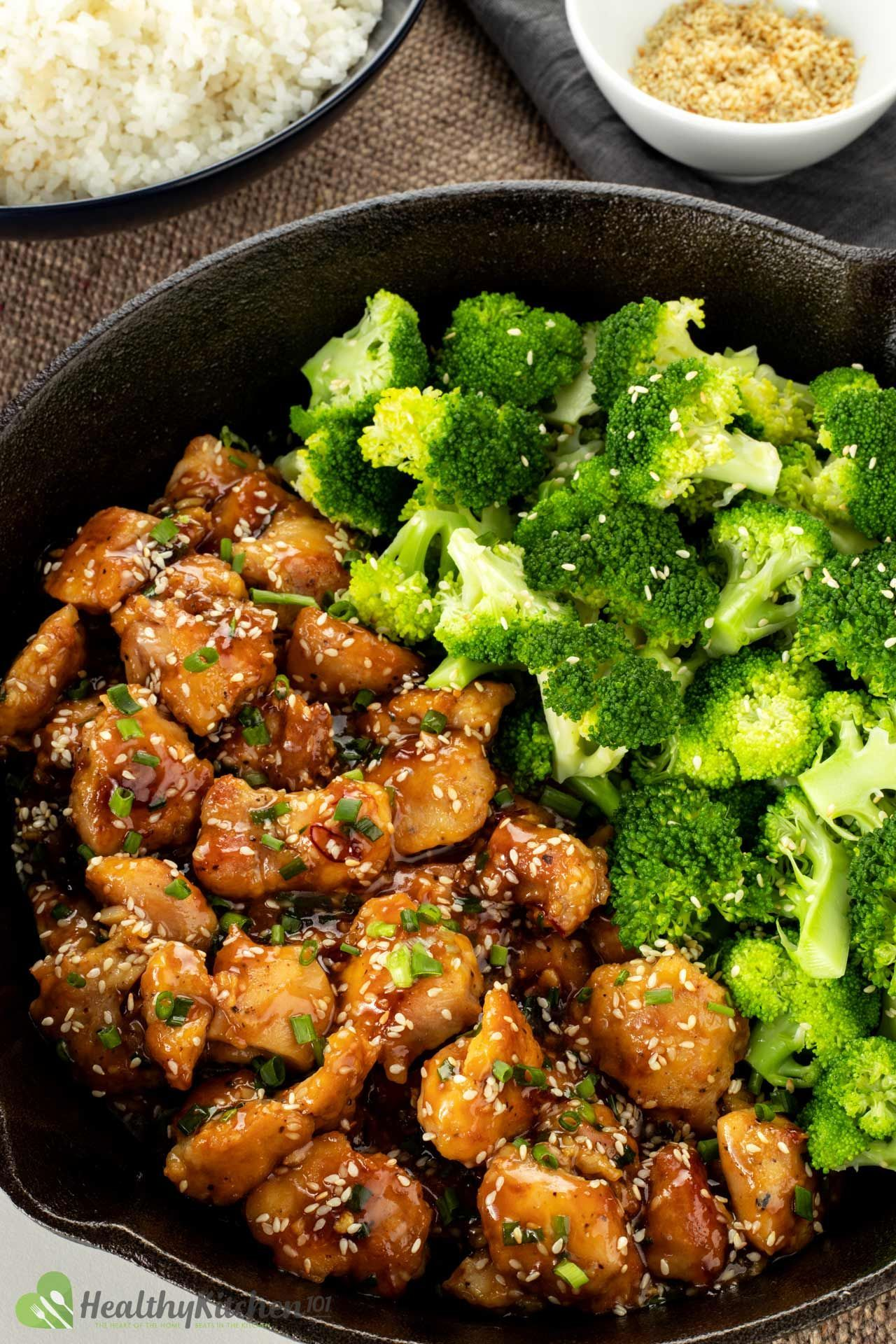 Healthy eating sesame chicken recipe A wellknown Asian