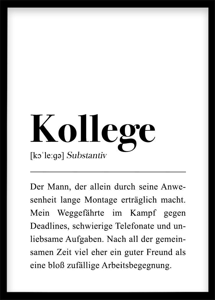 Kollege Plakat Din A4 Abschied Kollegen Spruche Arbeitskollegen Texte Zum Abschied
