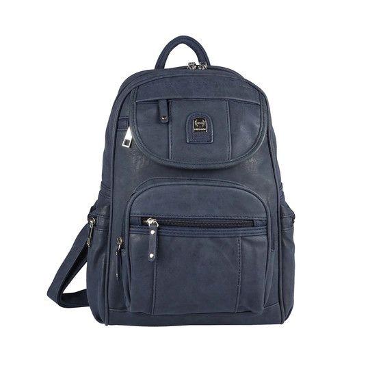 Herren Damen Rucksack Tablet Laptop Fach Tasche Schwarz Blau Taupe Grau City Bag