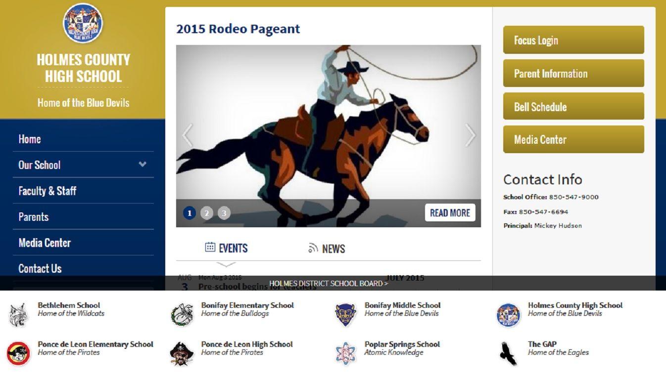 Holmes County High School 825 West Highway 90 Bonifay Fl 32425 Phone 850 547 9000 Fax 850 547 6694 High School Parent
