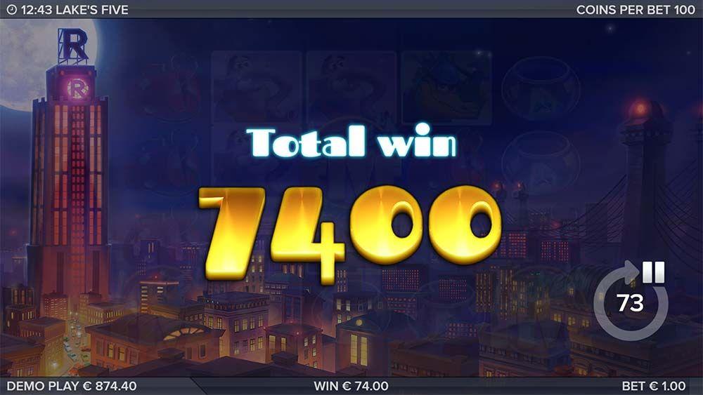 Lakes Five Slot Machine