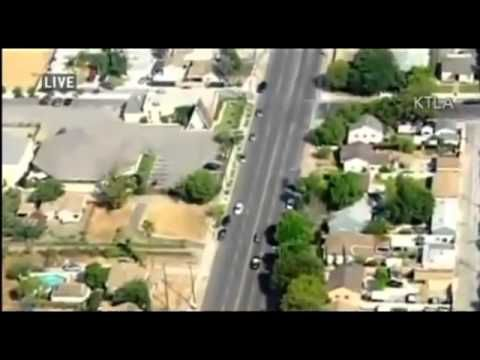 Los Angeles, California Highway Patrol - Police Chase [Carson